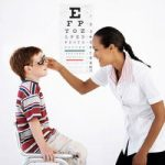 Oceanport Lions began to donate their time and energy to perform Annual Vision Screenings for Pre-K and early elementary children in Monmouth County schools