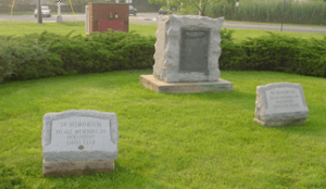 The Oceanport Lions Memorial Headstone
