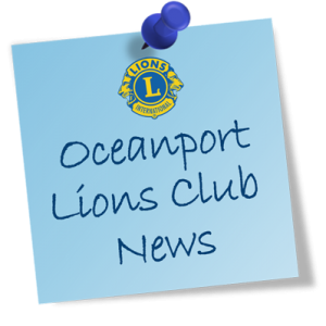 An update on what the Oceanport Lions Club is doing for you!