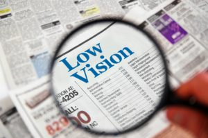 For many of us, low vision is a fact of life as we age. However, it does not have to be a limiting factor in the quality of your life.