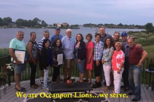 We are Oceanport Lions...we serve.